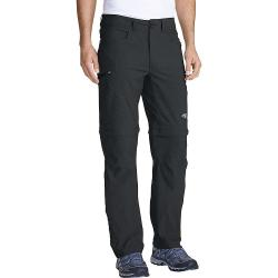 Eddie Bauer First Ascent Men's Guide Convertible Pant - 35 / 34 - Dark Smoke