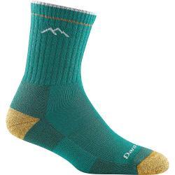 Darn Tough Women's Hiker Micro Crew Cushion Sock - Large - Teal