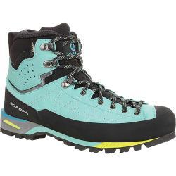 Scarpa Women's Zodiac Tech GTX Boot - 38 - Green Blue