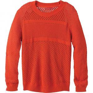 Prana Women's Kokimo Sweater - Small - Lava Glow