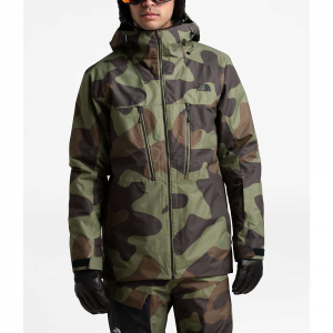 The North Face Men's ThermoBall Eco Snow Triclimate Jacket – Medium – Four Leaf Clover Terra Camo Print