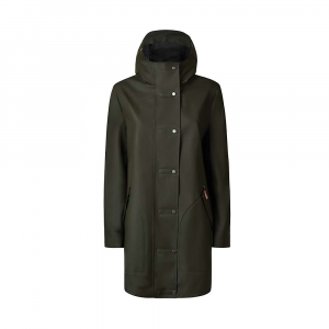 Hunter Women's Original Rubberised Hunting Coat – Large – Dark Olive