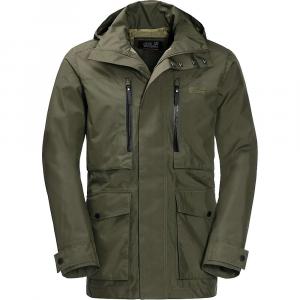 Jack Wolfskin Men's Bridgeport Jacket – Large – Woodland Green