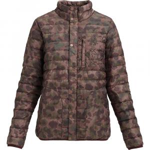 Burton Women's Aliz Evergreen Down Collar Insulator Jacket – Small – Moss Camo / Floral Camo