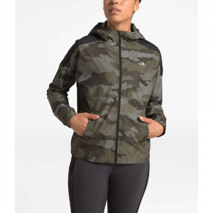 The North Face Women's Essential H2O Jacket – Medium – New Taupe Green Waxed Camo Print