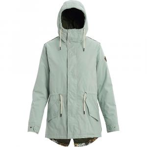 Burton Women's Insulated Sadie Jacket – Small – Aqua Grey / Wheeler Camo