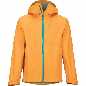 Marmot Men's PreCip Stretch Jacket – Medium – Ember
