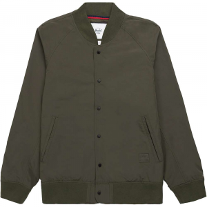Herschel Supply Co Men's Varsity Jacket – Small – Dark Olive