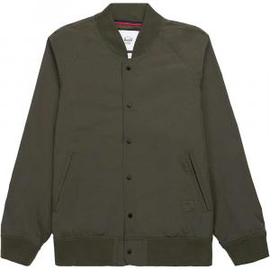 Herschel Supply Co Men's Varsity Jacket – Medium – Dark Olive