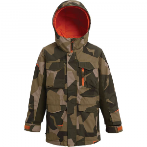 Burton Boys' Covert Jacket – Large – Three Crowns Camo