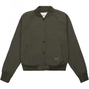 Herschel Supply Co Women's Varsity Jacket – Small – Dark Olive