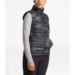 The North Face Women's ThermoBall Eco Vest – Medium – TNF Black Waxed Camo Print