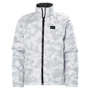 Helly Hansen Juniors' Lifaloft Insulated Jacket – 12 – Charcoal Camo