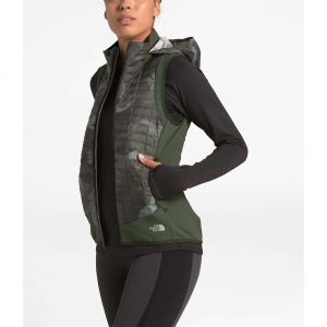 The North Face Women's ThermoBall Hybrid Vest – Small – New Taupe Green / New Taupe Green Waxed Camo Print