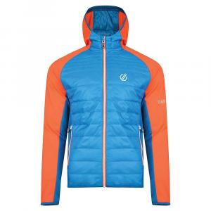 Dare 2B Men's Mountfusion Wool Hybrid Jacket – Small – Atlantic / Blaze Orange