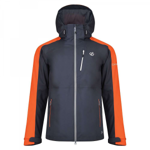 Dare 2B Men's Diluent Jacket – Small – Quarry Grey / Blaze Orange