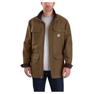 Carhartt Men's Field Coat – XL Regular – Coffee