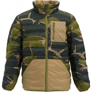 Burton Boys' Evergreen Insulator Jacket – XL – Mountain Camo / Kelp