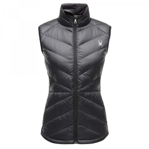 Spyder Women's Solitude Down Vest - Small - Black / Black