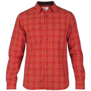 Fjallraven Men's Abisko Cool Long Sleeve Shirt - Small - Red