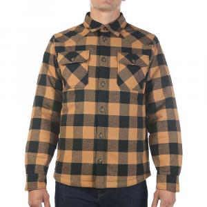 Moosejaw Men's Elmwood Insulated Shirt Jacket - Small - Antique Bronze / Black