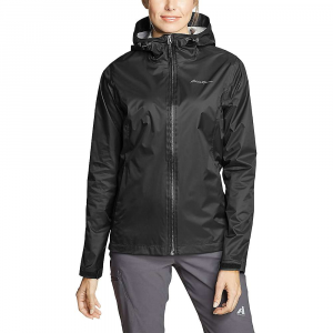 Eddie Bauer Women's Cloud Cap Rain Jacket - Small - Black
