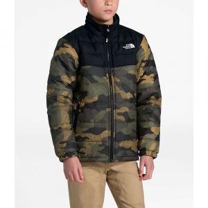 The North Face Boys' Reversible Mount Chimborazo Jacket – Large – British Khaki Waxed Camo Print