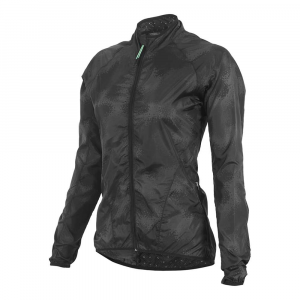 Shebeest Women's Veneer Jacket – Large – Black / Camo