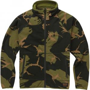 Burton Youth Spark Full-Zip Fleece Collar Jacket – Large – Mountain Camo