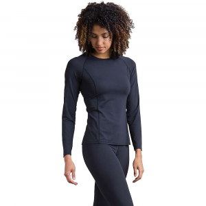 ExOfficio Women's Give-and-Go Performance Base Layer Crew – Large – Black
