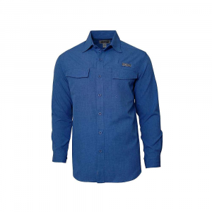 Hook & Tackle Men's Iztapa LS Shirt – Small – Blue