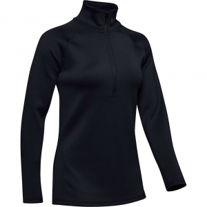 Under Armour Women's Coldgear Armour 1/2 Zip Top – Small – Black / Tonal