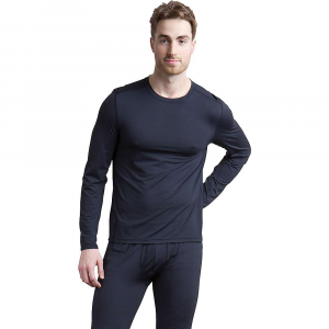 ExOfficio Men's Give-and-Go Performance Base Layer Crew – Small – Black