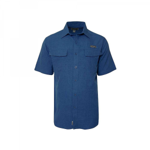 Hook & Tackle Men's Iztapa SS Shirt – Small – Blue