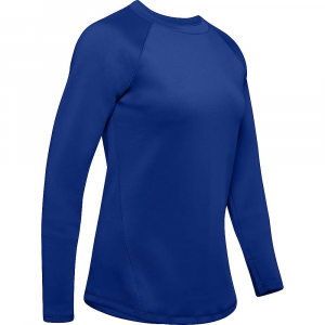 Under Armour Women's Coldgear Armour LS Top – Small – Royal / Tonal