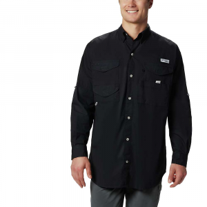 Columbia Men's Bonehead LS Shirt – Large Tall – Black