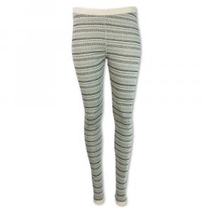 Purnell Women's Diamond Base Layer Legging – Medium – Black / Tan Kal