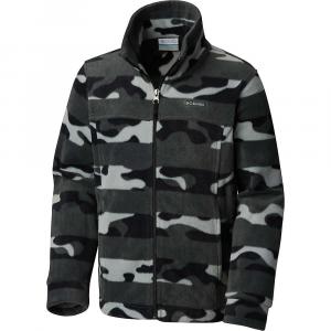Columbia Toddler Boys' Zing III Fleece Jacket – 2T – Black Camo Stripe