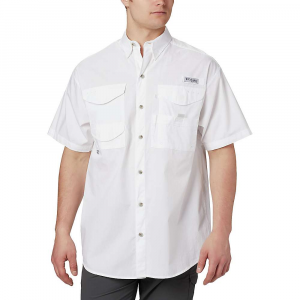 Columbia Men's Bonehead SS Shirt – Small – White