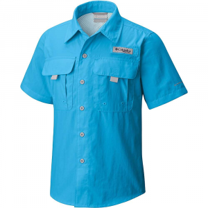 Columbia Youth Boys' Bahama SS Shirt – XL – Riptide