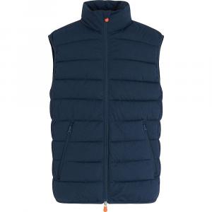 Save The Duck Men's Signature Stretch Vest – Medium – 209 Navy Blue Melange