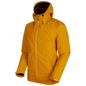 Mammut Men's Convey 3 In 1 HS Hooded Jacket – Large – Golden / Black
