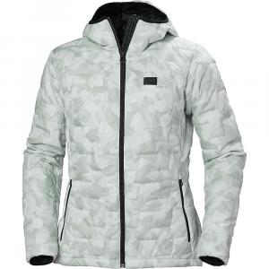 Helly Hansen Women's Lifaloft Hooded Insulator Jacket – XS – Grey Fog Camo