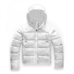 The North Face Women's Hyalite Down Hoodie – Small – TNF White Waxed Camo Print