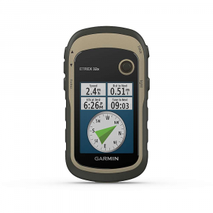 Garmin eTrex 32x Rugged Handheld GPS with Compass and Barometric Altim