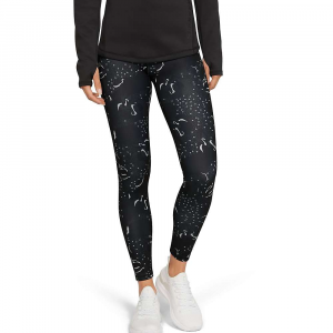 Under Armour Women's Coldgear Armour Printed Legging – Medium – Black / Tonal