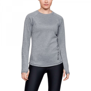 Under Armour Women's ColdGear Armour LS Top – Small – Heather Grey