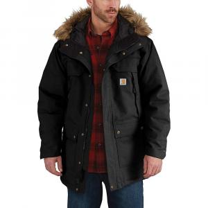 Carhartt Men's Quick Duck Sawtooth Parka – XL Regular – Black