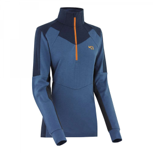 Kari Traa Women's Voss Long Sleeve Base Layer – Large – Blue