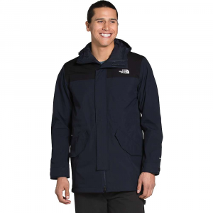 The North Face Men's City Breeze Rain Parka – Large – Aviator Navy / TNF Black
